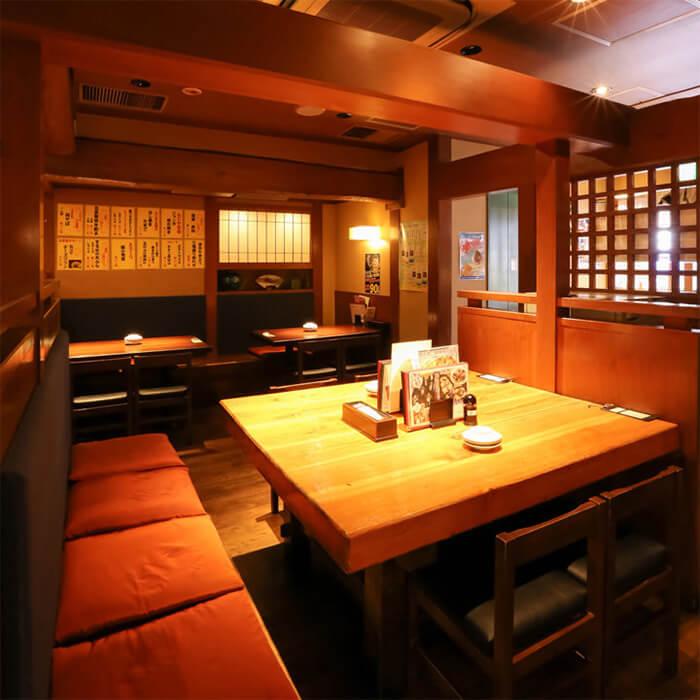 【8名様まで/大テーブル席(1階)】