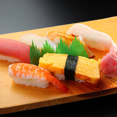 本日のおまかせ握り寿司6種盛り合わせ